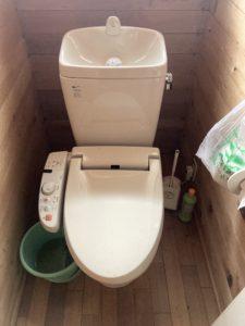トイレ / Before